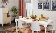 Classical Fusion Dining Room