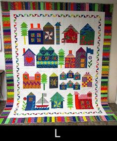 Moda Be My Neighbor Free Quilt Pattern