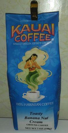 NEW Kauai Coffee Toasty Banana Nut Cream 100% Hawaiian Coffee FREE SHIPPING | Home & Garden, Food & Beverages, Coffee | eBay!