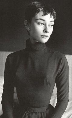 Audrey Hepburn (Cecil Beaton) The ultimate short hair inspiration.
