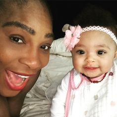 After Serena Williams and her husband Alexis Ohanian welcomed their first child together, baby girl Alexis Olympia, last September, the tiny tot has stolen Serena Williams Husband, Serena Williams Quotes, Venus And Serena Williams, Tennis Clubs, Tennis Players, Tennis Racket, Afro, Alexis Ohanian, How To Play Tennis