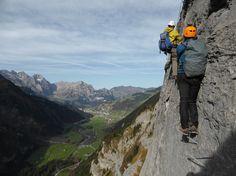 Fürenwand Klettersteig - enjoy the montain view