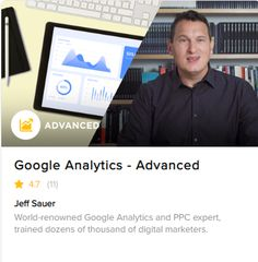 Put Google Analytics into action with this advanced Google Analytics class. This course teaches you how to configure Google Analytics to collect the right data and keep track of digital marketing efforts. With these techniques in place, you'll be able to provide tremendous value to your clients and help them navigate the complicated world of analytics. Google Analytics Certification, Existing Customer, What You Can Do, Training Programs, Digital Marketing, Knowledge, Teaching, Business, Ticket