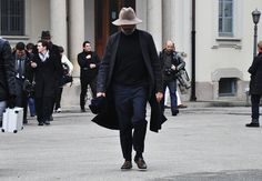 Tommy Ton shoots the scene in Milan and Paris: Fashion Shows: GQ