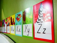10 Ways to Hang and Display ABC Flashcards