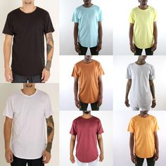 EPTM Men's Vintage Original Long Tee Hip Hop Jeezy T-shirt #EPITOME #BasicTee