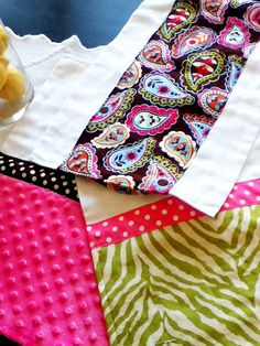 DIY Burp Cloths !