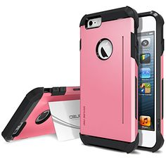 iPhone 6 Case, Obliq [Card Kickstand] iPhone 6 (4.7) Case [SkyLine Pro][Pink] Armor Slim Fit Dual Layer Hard Case Cover - Best Apple iPhone 6 Case for 4.7 Inch (2014)-(Does NOT fit iPhone 5 5S 5C 4 4s or iPhone 6 Plus 5.5 inch screen) Obliq http://www.amazon.com/dp/B00LU2JDLY/ref=cm_sw_r_pi_dp_eiSvub1CXKPVB