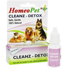 Homeopet Clenz Detox (15 ml) *** Be sure to check out this awesome product. (This is an affiliate link and I receive a commission for the sales)