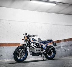 BMW K75 by @thefoundrymc. : @alangoesnuts #bmw #k75 #scrambler