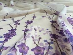 Image result for PURPLE FLORAL CHIFFON FABRIC Floral Chiffon, Chiffon Fabric, Purple, Wedding, Inspiration, Image, Fashion, Valentines Day Weddings, Biblical Inspiration