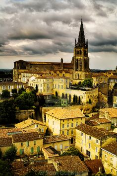 Saint Emilion, Aquitaine, France #SaintEmilion #Aquitaine #France
