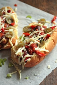 Andouille Cajun Dog | On top of this dog, you've got a little bit of everything from Chiptole mayonaise, to the southern spice of a perfectly grilled Andouille dog, roasted red peppers, finely chopped celery, bell peppers, a little salsa for additional spice and pickled jalapenos for an extra kick. Topped with a little Aged Reserve Crakcer Barrel cheese on top – and you're off to the races. | From: countrycleaver.com