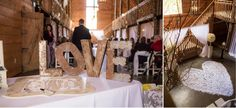#kfb_events #rentals #prattplaceweddings #goldsequin #navyandgold #barnwedding | metal LOVE lettering | unique sign-in book | heart shaped flowers | pipe and drape | white sheer drapes