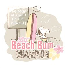 Description: Snoopy is a beach bum with his surf board in this Peanuts canvas art. This art would look wonderful in a beach-themed room. - Peanuts wall art featuring Snoopy - Durable art print on high #surfingquotes
