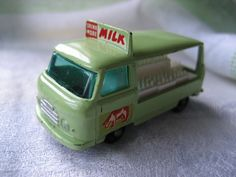 """Vintage Lesney Matchbox Die Cast Cars """"The Milk Truck"""" From 1961"""