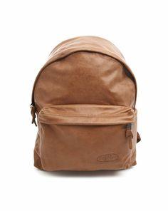 Camel Backpack Leather Pak'r Padded Sac Dos Camel En Eastpak À Cuir w8n1zIq
