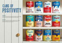 アメリカを代表する老舗スープメーカー、『 Campbell ( キャンベル )』 のスープ缶。飲んだことはないという人も、あの筆記体のロゴと紅白が特徴的な缶詰を、一度は目にしたことがあるという人は多いのではないでしょうか …