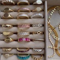 Stylish Jewelry, Cute Jewelry, Fashion Jewelry, Fashion Ring, Luxury Jewelry, Nail Jewelry, Jewelery, Jewelry Accessories, Bijou Brigitte