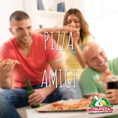 Hai detto pizza? Si riempie la casa! In compagnia c'è sempre più gusto. http://www.italpizza.it/i-nostri-prodotti/