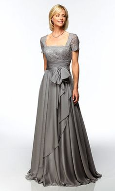 Mother of the Bride Dresses  I need this as a short dress, love the flow of the skirt