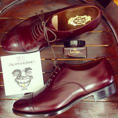 KOKON FactoryMade「407」ワインカーフ #gloucesterroad #yokohama #KOKON #shoes #mensshoes