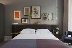 22 Dreamy Gray Bedrooms | 1stdibs
