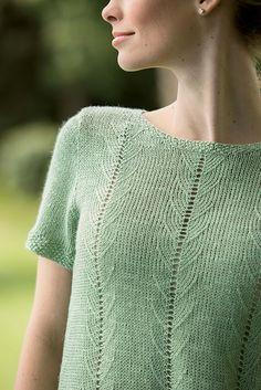 Ravelry: Belgravia Tee pattern by Robin Melanson
