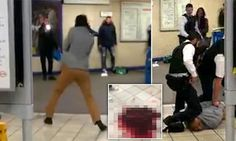Tube terror as knifeman screaming 'this is for Syria, stabs man #DailyMail This is how they repay Europe for letting them into their countries to be in a safe environment.