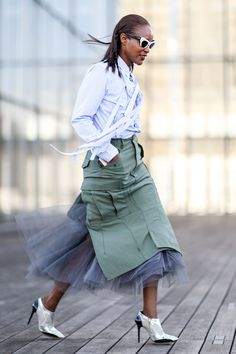 45 Ways to Wear Army Green Like a Street Style Star | StyleCaster