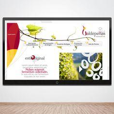 Diseño D.O. Valdepeñas http://www.xn--vinosvaldepeas-1nb.com/ www.monoermo.com