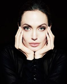 Angelina Jolie photographed by Sofia Sanchez and Mauro Mongiello for Newsweek Magazine December 2011
