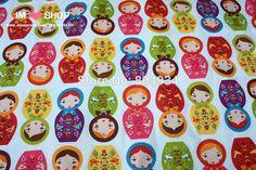 Ropa de cama Sábanas gratuito 100x160cm Envios tela de algodón del remiendo de tela que acolcha Tilda Textil Matryoshka Muñecas de la jerarquización en blanco en Telas de Industria y Negocio en AliExpress.com | Alibaba Group