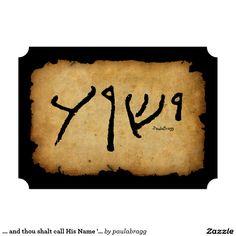 13 Best Yeshua Y'shua Jesus Handwritten Jewish Hebrew Name images in