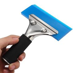 #BangGood - #Eachine1 Window Film Tint Tool Blade Scraper Water Squeegee Tool With Handle Blue - AdoreWe.com