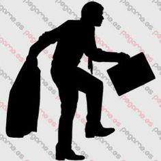 Pegame.es Online Decals Shop  #man #work #walking #briefcase #executive #slow #stealth #vinyl #sticker #pegatina #vinilo #stencil #decal