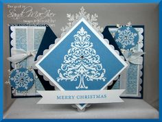 Countdown to Christmas Project/ diamond folding card