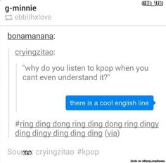 Ring ding dong ring ding dingy ding xD