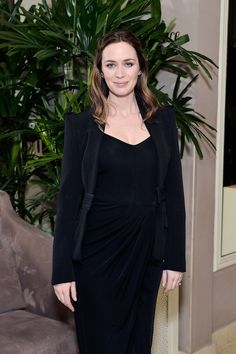 Pin for Later: Emily Blunt Makes Her First Public Appearance Since Her Pregnancy News