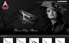 Aripak International, a famous Pakistan based Beauty Instruments Company, deals in Barber Scissors, Professional Thinning Scissors, Titanium Shear, Cuticle & Acrylic Nipper, Manicure and Pedicure Nippers & Thinning Scissor, Pro Eyebrow Tweezers etc. Dynamic Website containing prominent features with magnificent…