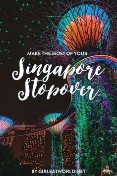 Found yourself in Singapore for just 24 hours? Let me tell you what to do so that you don't waste your time here! Singapore Tour, Singapore Itinerary, Singapore Travel, Malaysia Travel, Travel Guides, Travel Tips, Travel Destinations, Travel Around The World, Around The Worlds