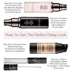 How To Achieve The Perfect Dewy Complextion