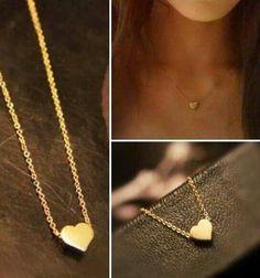Papriika-Design                    Collar con dije en corazón relleno en plata $350 El corazón en bronce $300