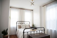 andchristina: Before + After: An Airy Guestroom
