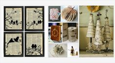 5 Ways To #Upcycle Old #Books #crafts #diy #gotvintage #vintage