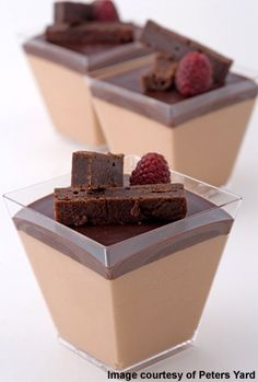 The bakery has four master bakers from Sweden. The chocolate mousse is ...