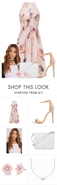 """""""Untitled #266"""" by maddie-much ❤ liked on Polyvore featuring Charlotte Russe, Furla, Irene Neuwirth and Minnie Grace"""