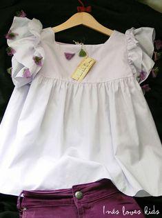 ropa-bebe-inesloveskids Fashion Kids, Girls Dresses, Ruffle Blouse, Sewing, Blog, Inspiration, Tops, Women, Nightgown