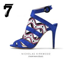 Hopefully all M'O pinners pre-ordered this #NicholasKirkwood gem!  Style.com has it in the top 10 FW12 accessories!