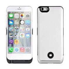 Die Powerbank wurde speziell für iPhone 6 4.7 Zoll entwickelt. Sie ist aus Polymer bester Qualität hergestellt und hat eine elegante Fauxleder-Rückseite und eine Mikrofaser-Beschichtung. Die ultra leichte und dünne Powerbank bietet auch gleichzeitig ...